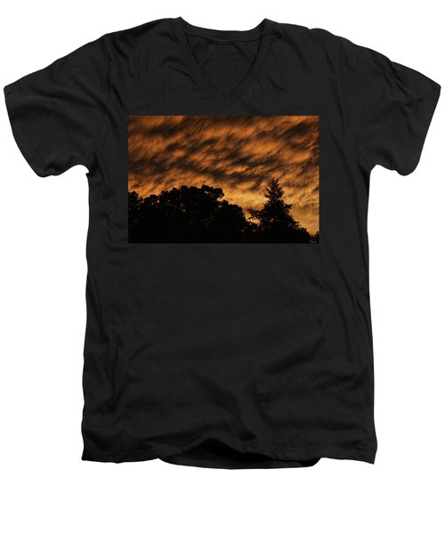After Storm Sunset Men's V-Neck T-Shirt