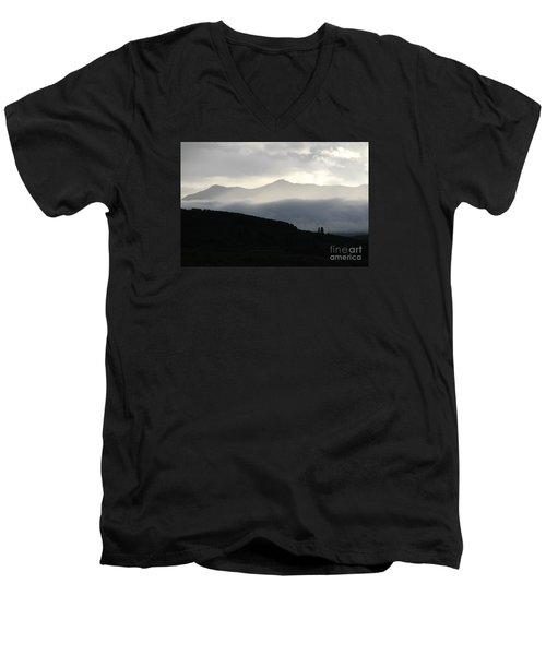 The Quiet Spirits Men's V-Neck T-Shirt