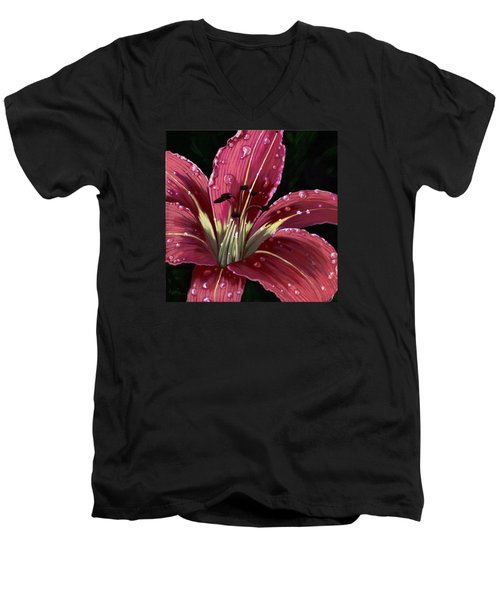 After The Rain - Lily Men's V-Neck T-Shirt