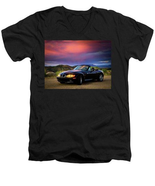 After The Storm - Bmw Z3 Men's V-Neck T-Shirt