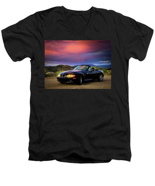 After The Storm - Bmw Z3 Men's V-Neck T-Shirt