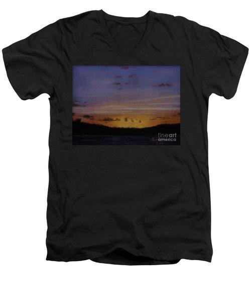 Afterglow Men's V-Neck T-Shirt