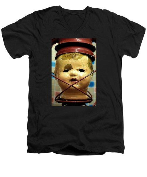 Afterlife 2 Warm Men's V-Neck T-Shirt