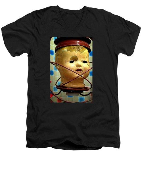 Afterlife Warm Men's V-Neck T-Shirt