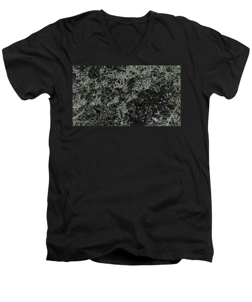 Afterthoughts  Men's V-Neck T-Shirt by Rachel Hannah