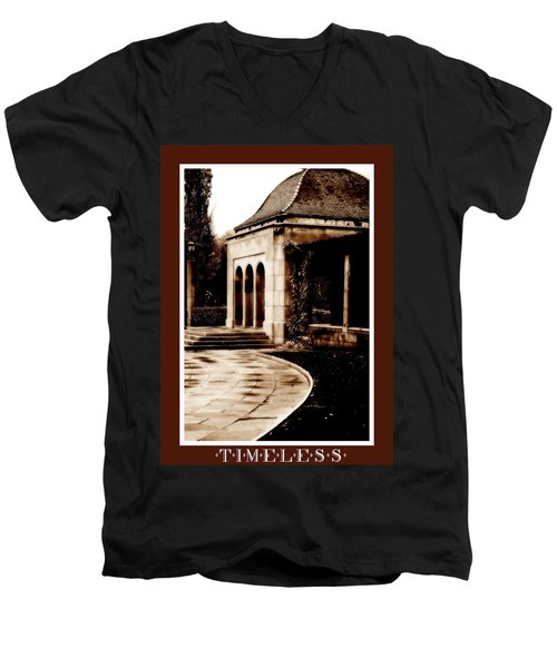 Aged By Time Men's V-Neck T-Shirt