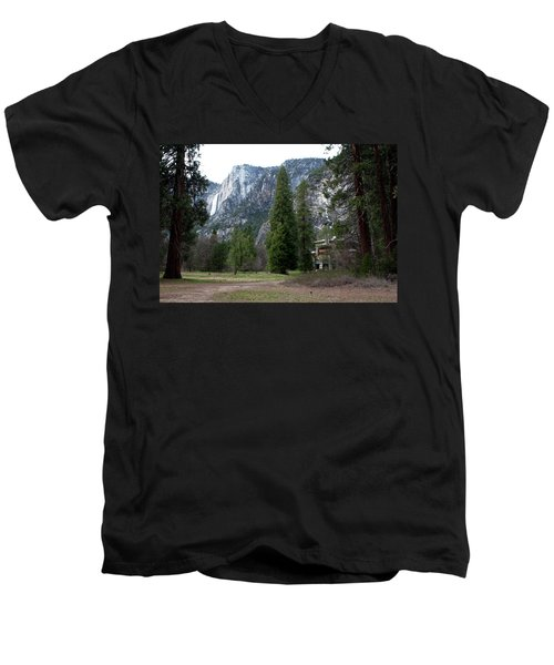 Ahwahnee Setting Men's V-Neck T-Shirt