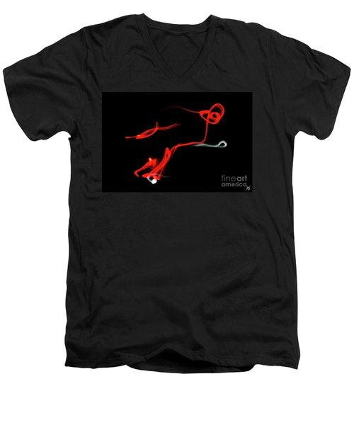 Aikido - Yonkyo, Omote Men's V-Neck T-Shirt