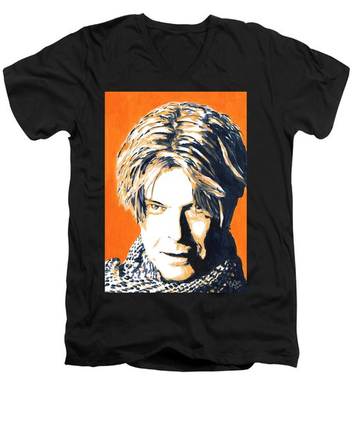 Aka Bowie Men's V-Neck T-Shirt