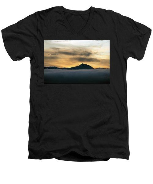Alaskan Gold Men's V-Neck T-Shirt