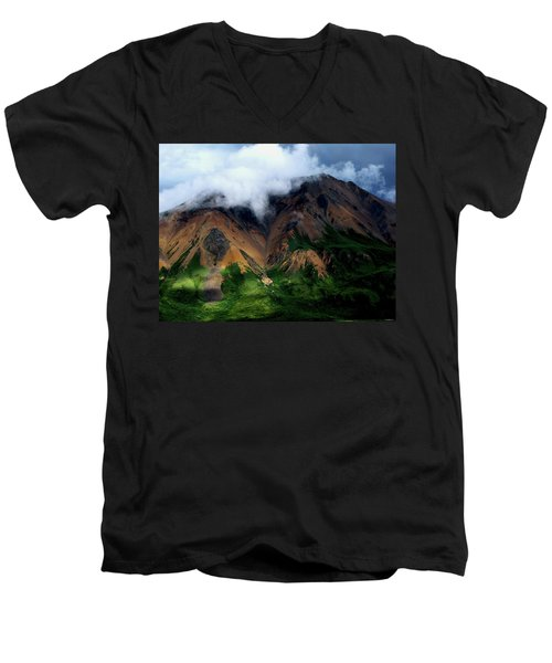 Alaskan Grandeur Men's V-Neck T-Shirt