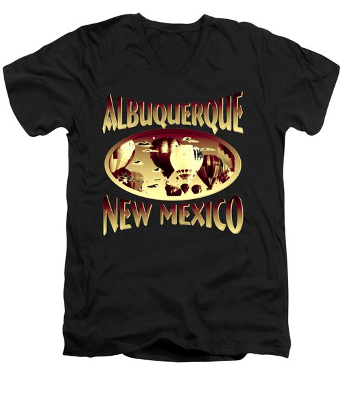 Albuquerque New Mexico Design Men's V-Neck T-Shirt