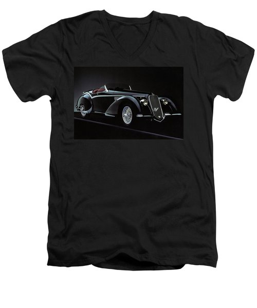 Alfa Romeo 8c 2900 Mercedes Benz Men's V-Neck T-Shirt