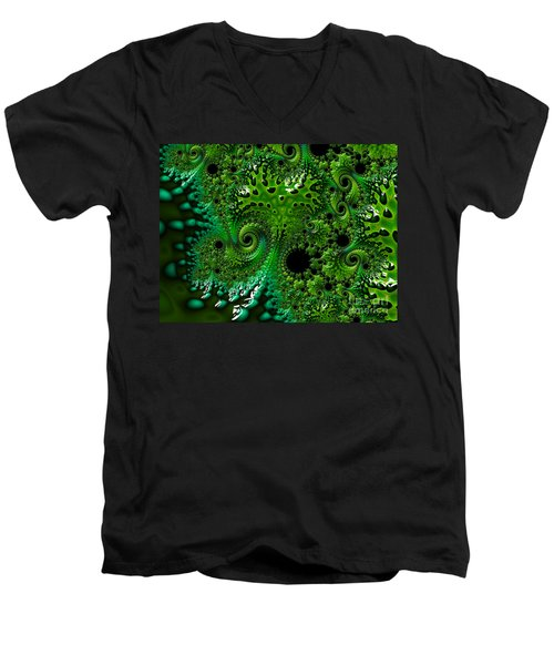 Algae Men's V-Neck T-Shirt