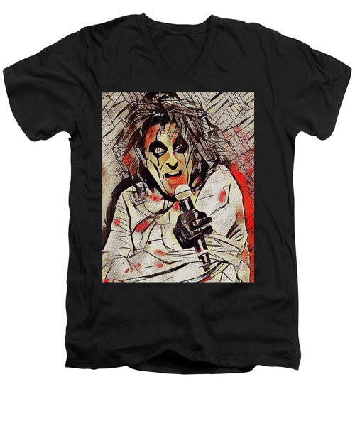 Alice Cooper Men's V-Neck T-Shirt