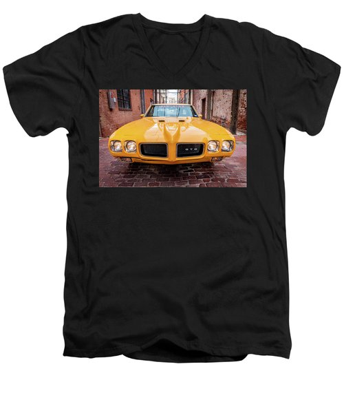 All American Muscle Men's V-Neck T-Shirt