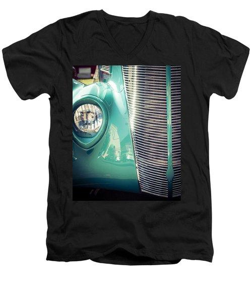 All Business Men's V-Neck T-Shirt
