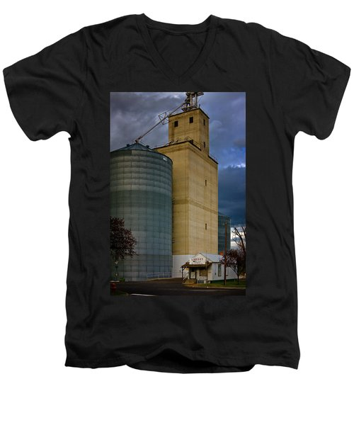 Men's V-Neck T-Shirt featuring the photograph All Things by Albert Seger