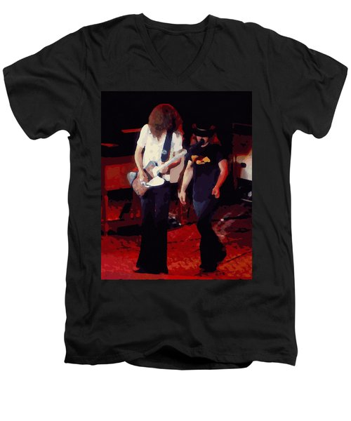 Allen And Ronnie Winterland 1 Men's V-Neck T-Shirt