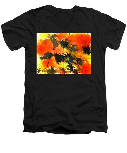 Allergic Reaction Men's V-Neck T-Shirt
