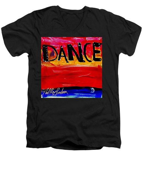 Allways Dance Men's V-Neck T-Shirt