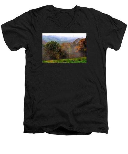 Along The Brp Men's V-Neck T-Shirt