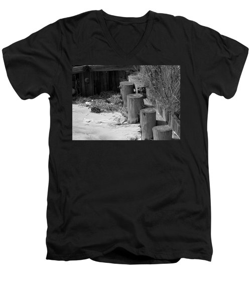 Along The Shore Men's V-Neck T-Shirt