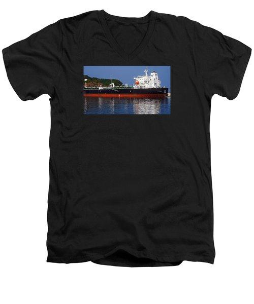 Alpine Meadow Men's V-Neck T-Shirt