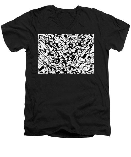 Alternate Topography 1 Men's V-Neck T-Shirt