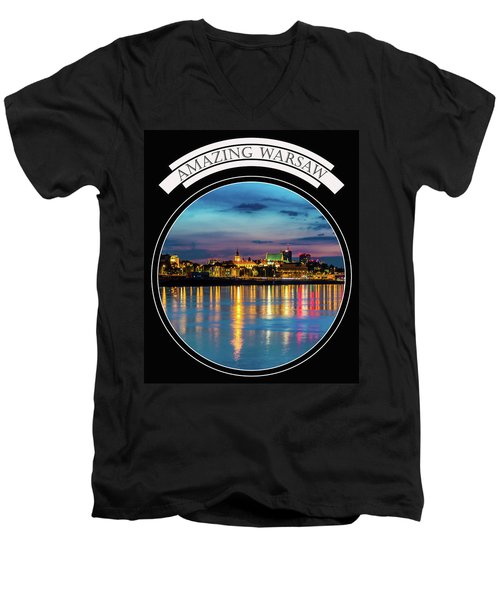 Amazing Warsaw Tee 1 Men's V-Neck T-Shirt