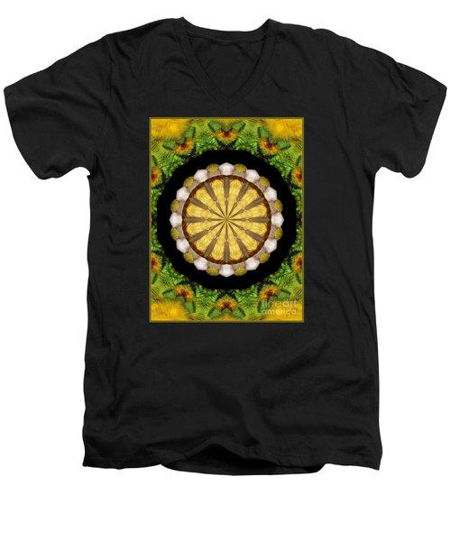 Amazon Kaleidoscope Men's V-Neck T-Shirt