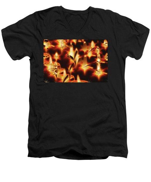 Amber Dreams Men's V-Neck T-Shirt