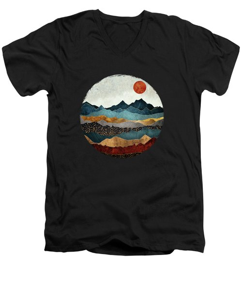 Amber Dusk Men's V-Neck T-Shirt