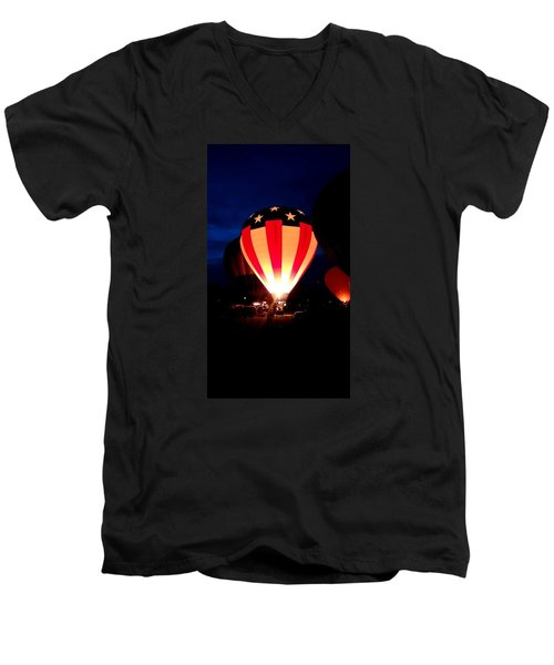American Balloon Men's V-Neck T-Shirt