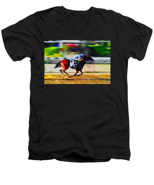 American Pharoah Men's V-Neck T-Shirt