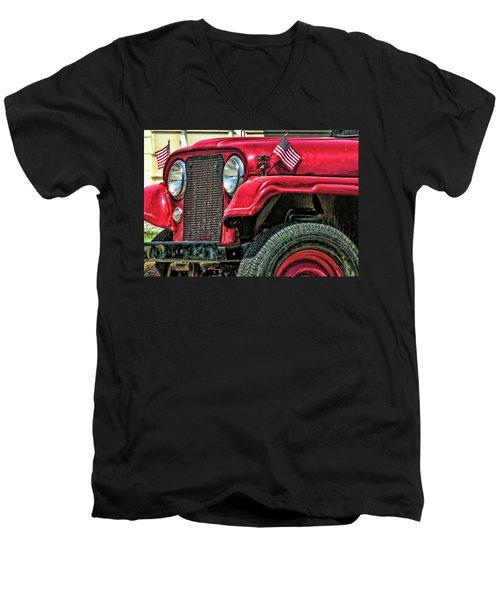 American Willys Men's V-Neck T-Shirt