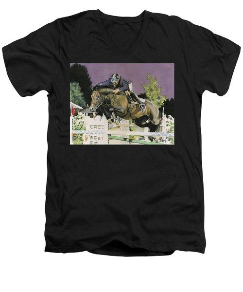 Ammeretto Aka Dutch Men's V-Neck T-Shirt