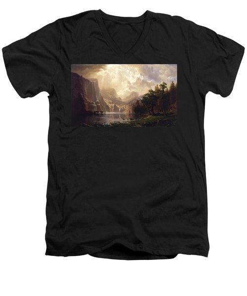 Among The Sierra Nevada Men's V-Neck T-Shirt