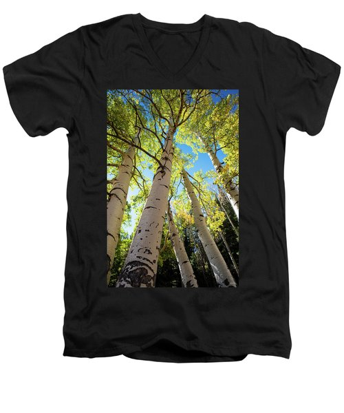 Aspen Dance Men's V-Neck T-Shirt