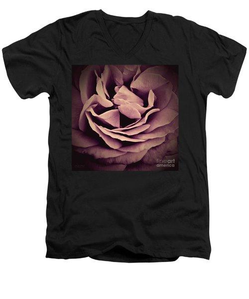 An Angel's Rose Men's V-Neck T-Shirt