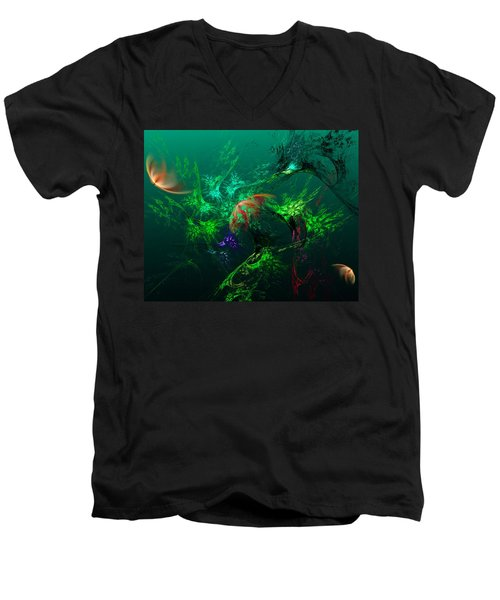 An Octopus's Garden Men's V-Neck T-Shirt