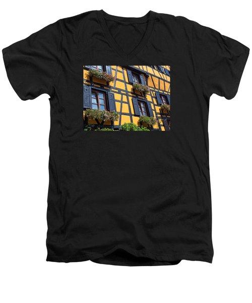 Ancient Alsace Auberge Men's V-Neck T-Shirt