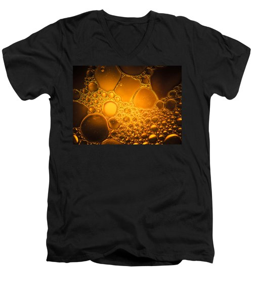 Ancient Gold  Men's V-Neck T-Shirt by Bruce Pritchett