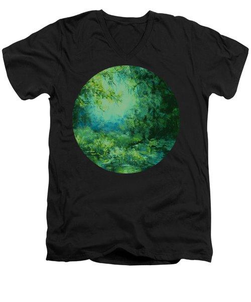 And Time Stood Still Men's V-Neck T-Shirt
