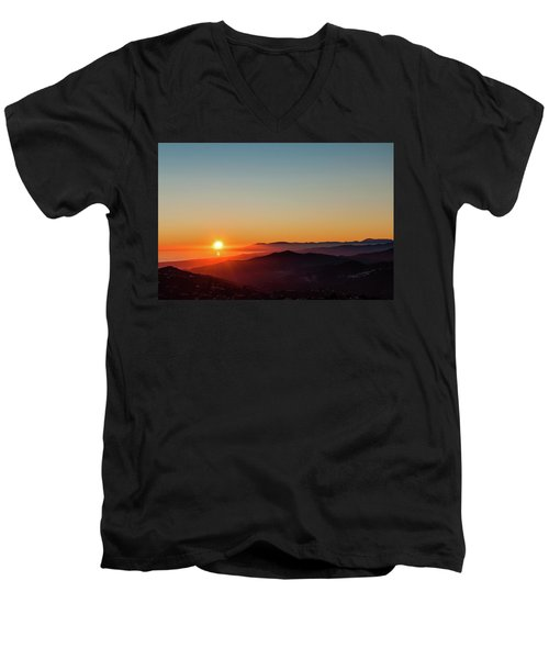 Andalucian Sunset Men's V-Neck T-Shirt