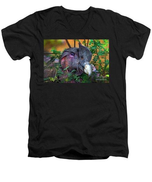 Andean Condor At Amaru II Men's V-Neck T-Shirt