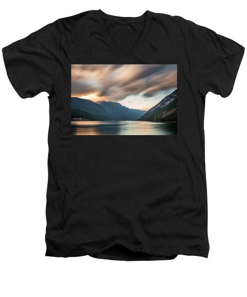 Anderson Lake Dreamscape Men's V-Neck T-Shirt