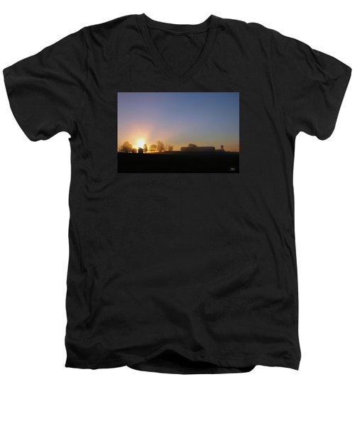 Anderson Sunrise Men's V-Neck T-Shirt