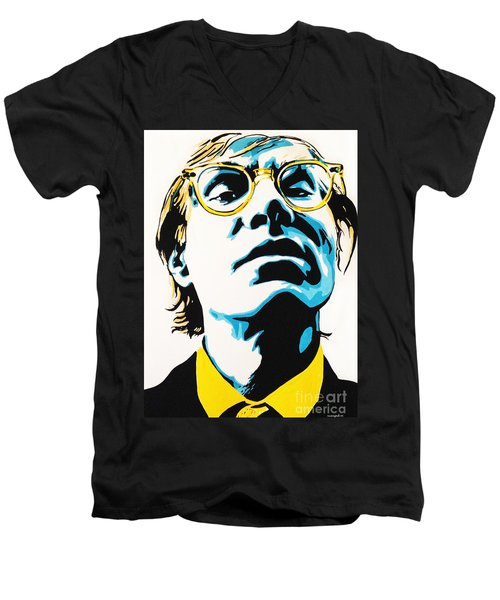 Andy Warhol Part Two. Men's V-Neck T-Shirt