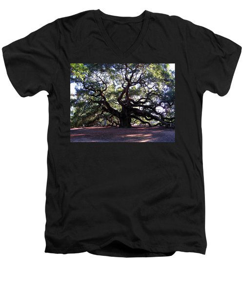 Angel Oak II Men's V-Neck T-Shirt